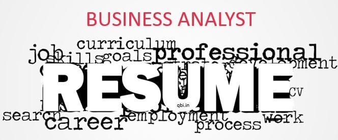 IT BUSINESS ANALYST RESUME TIPS