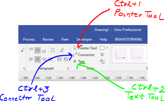 Visio Text Tool